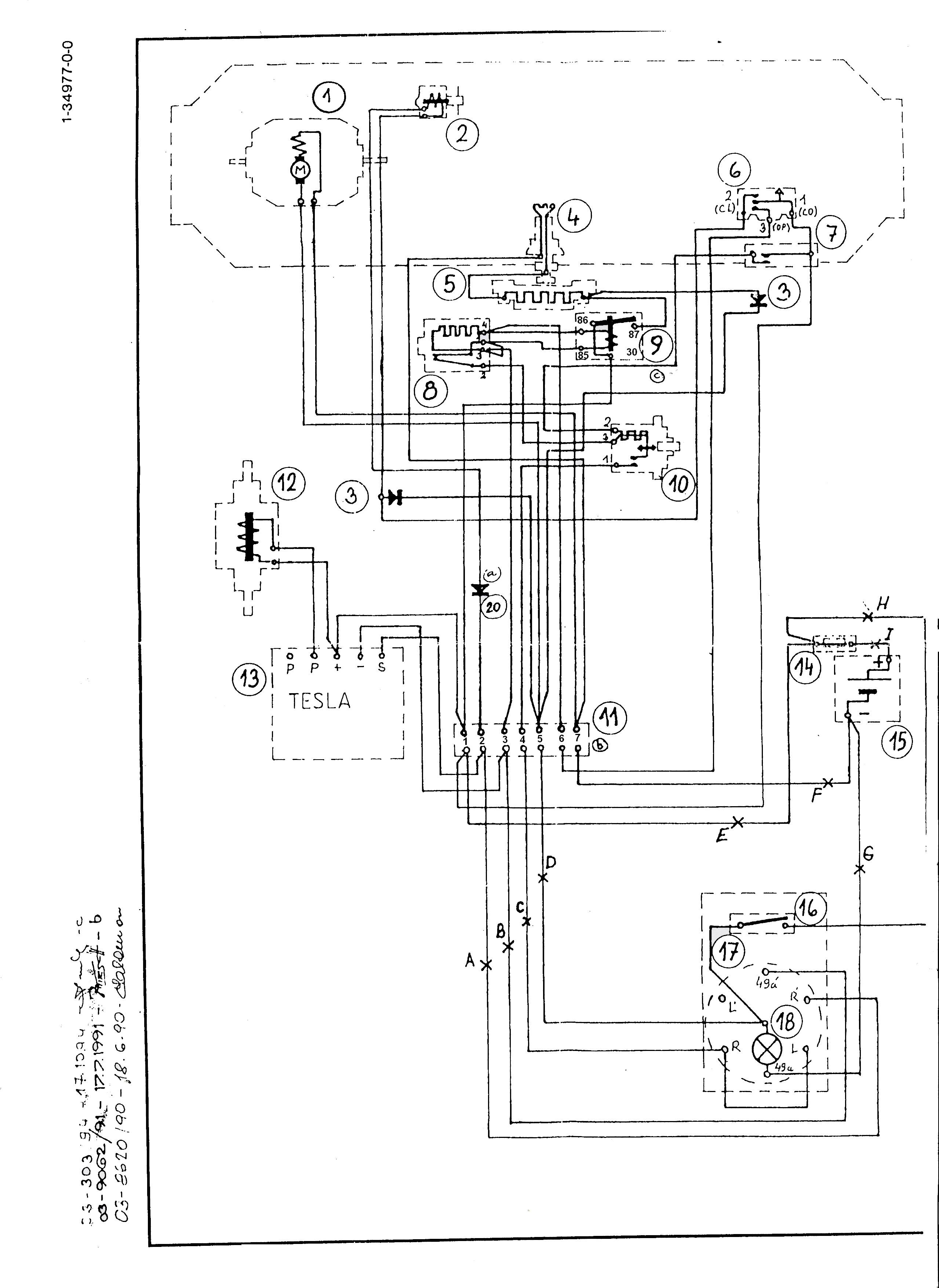 Rozsirene Schema Zapojeni Topeni X7 1m